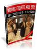 Thumbnail Wedding Etiquette